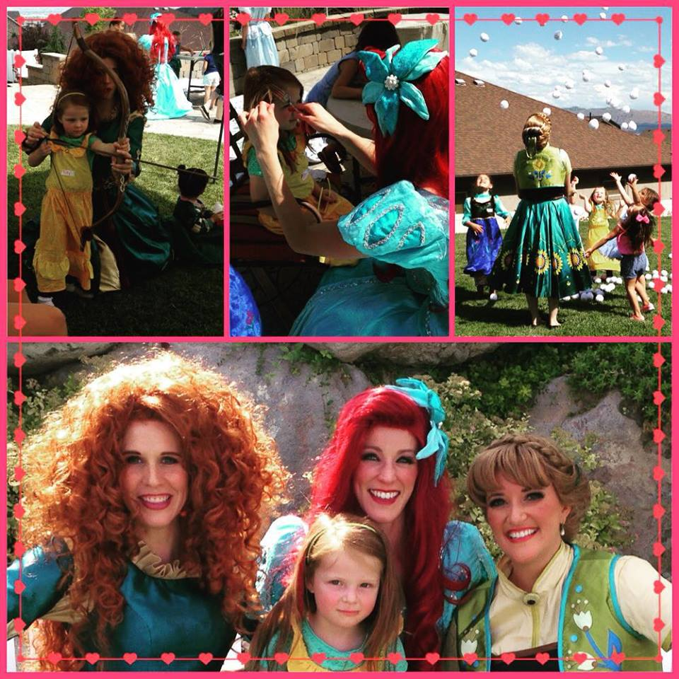 Red Heads Unite Summer Princess Camp