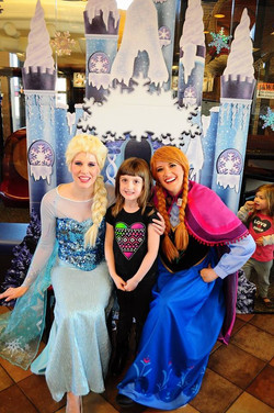 Frozen Party at Chick-Fil-A Utah