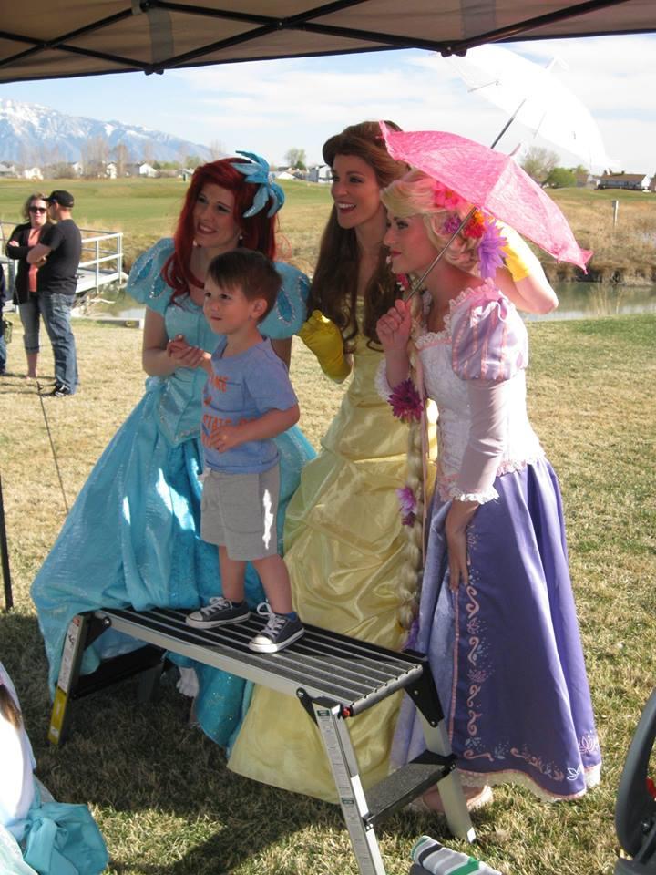 Photo booth Fun! Princess party