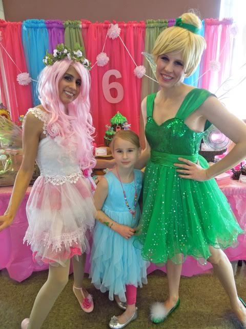 Fantastic fairy parties. Tooth fairy