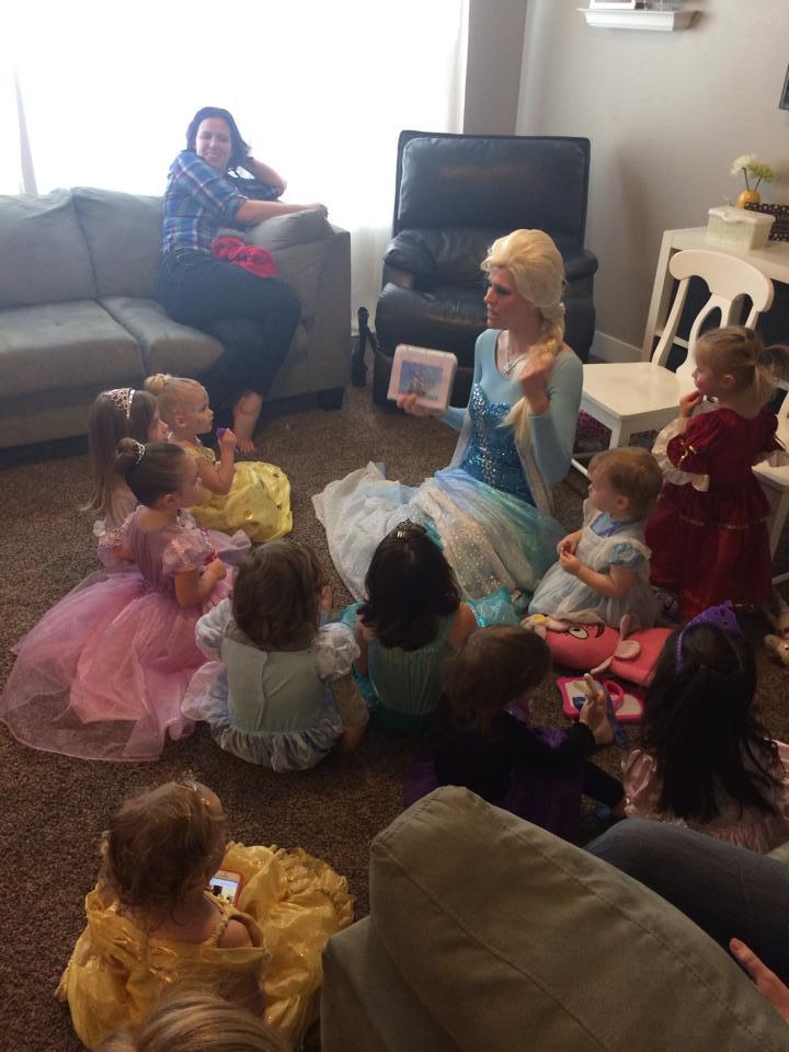 Princess party entertainment