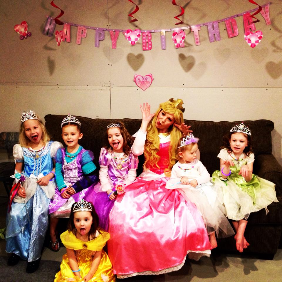 Silly princess party!