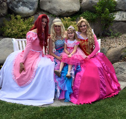 Pretty in Pink Camp princess party