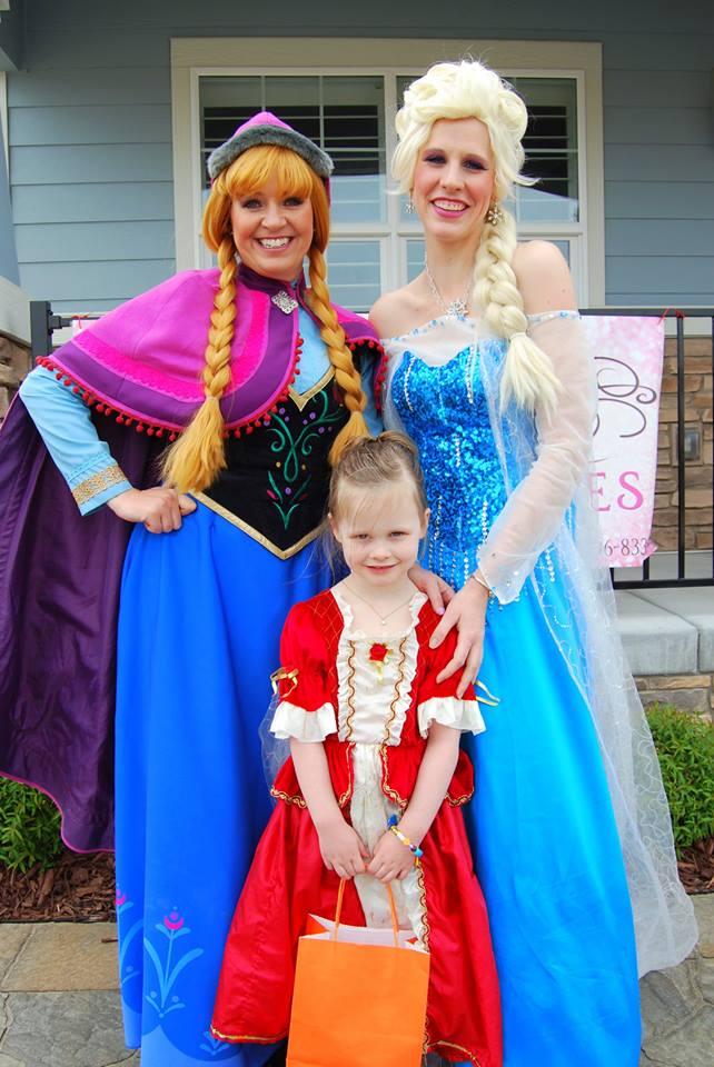 princess summer camp fun in Utah