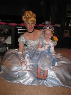 Cinderella 4th birthday party