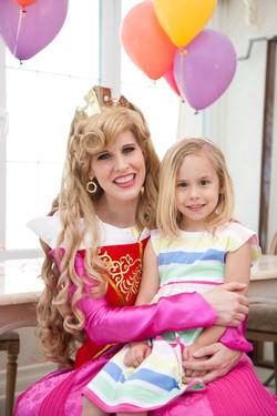 Pink princess party Aurora! UTAH