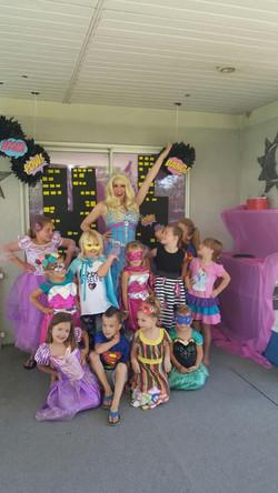 Barbie Princess Party in Utah