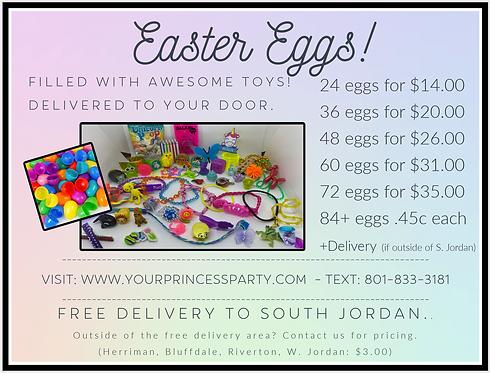 Filled Easter Eggs!