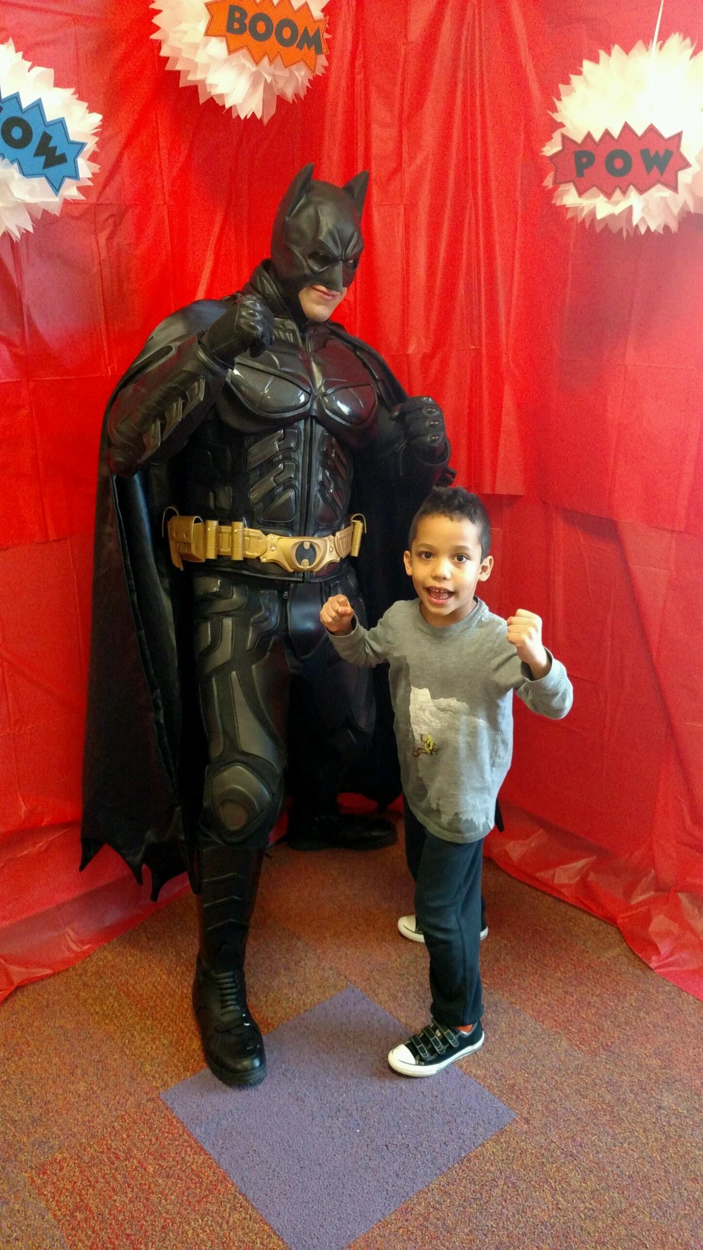Batman for hire in UTAH party