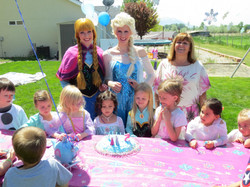 Frozen themed party ideas for girls