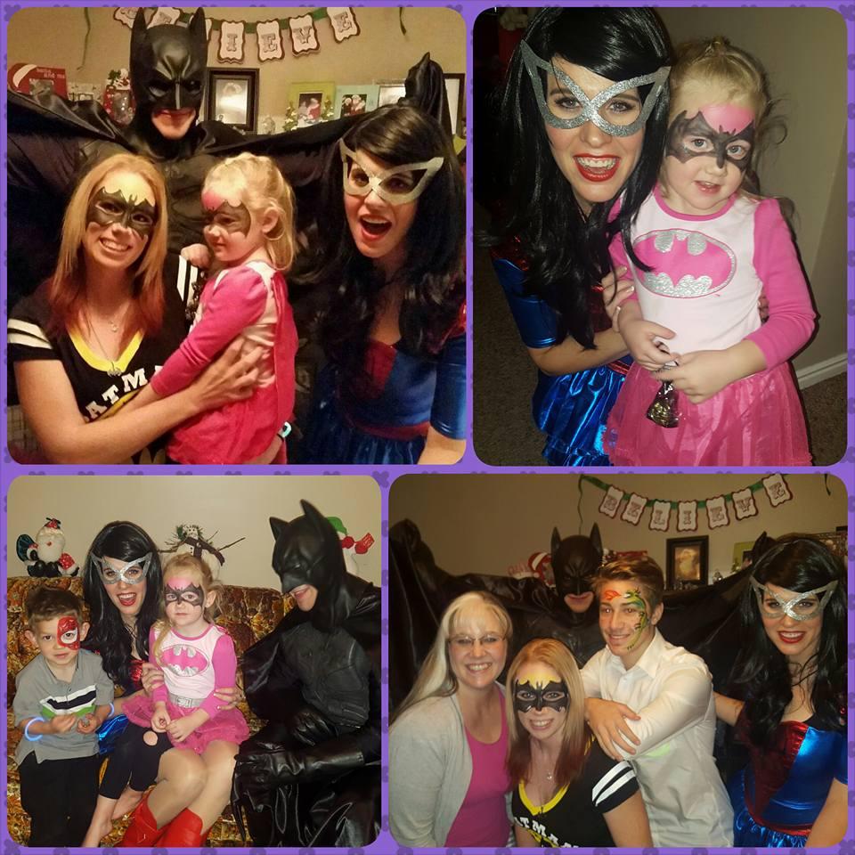 Batman Spiderman birthday Party idea
