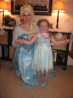 Princesses for hire in Utah- Elsa