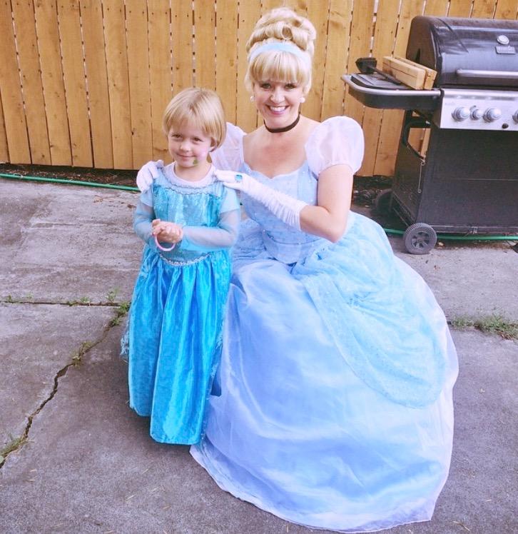 Cinderella Birthday Party Utah