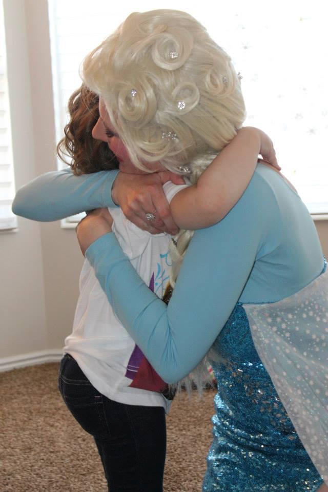 Disney princess in Utah