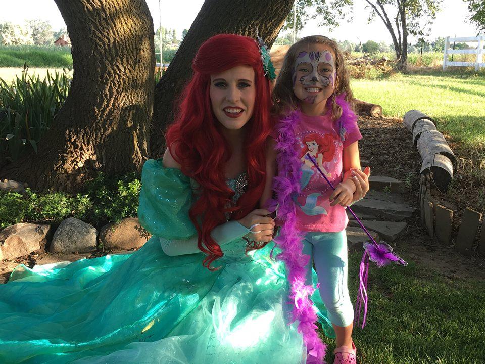Mermaid Princess Birthday Party Idea