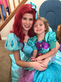 Little Mermaid Princess Party Ideas