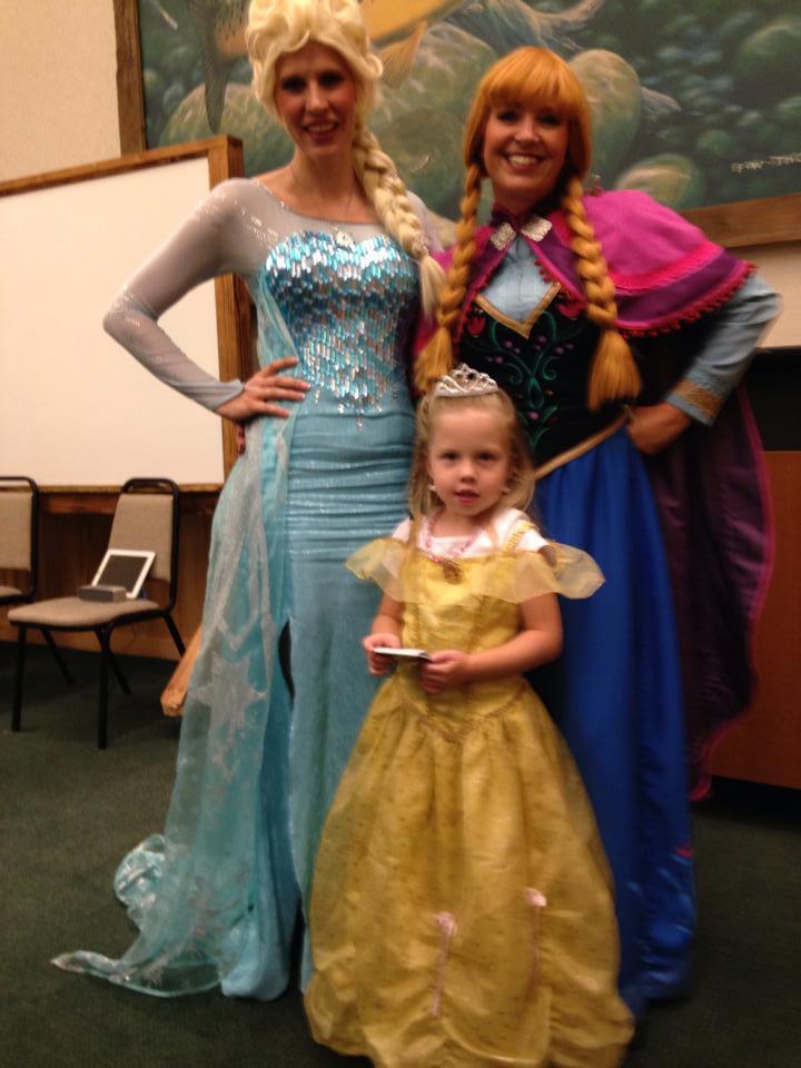 Princess party ideas Utah