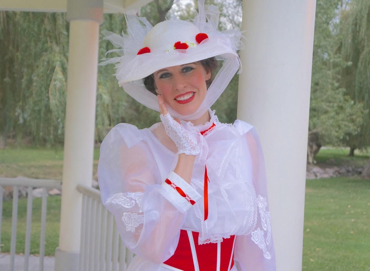 Mary Poppins singing telegram party