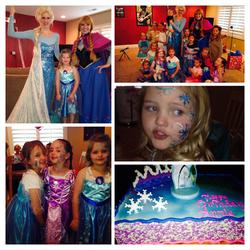Frozen party for preschoolers