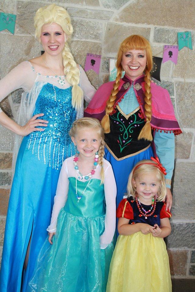 Princess Party blog Utah
