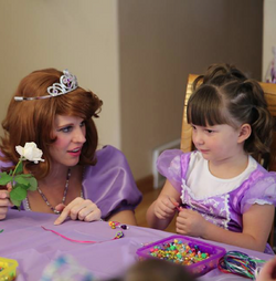 Princess party craft ideas