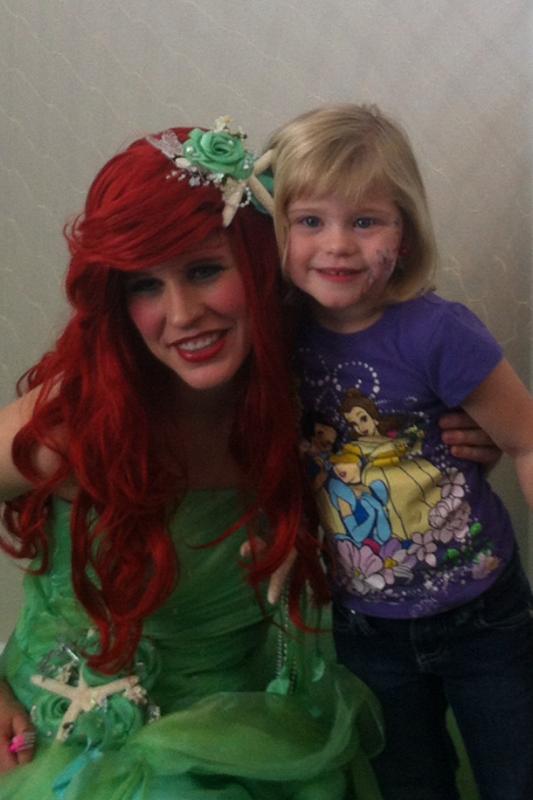 Little Mermaid Princess Party UT