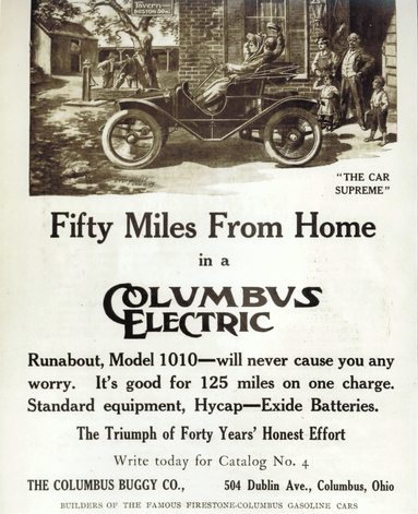 Back to the Future: Electric Vehicles in Columbus