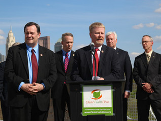 Reps. O'Brien, Hall Hold Press Conference at Clean Fuels Ohio