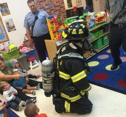 A Visit from the Fire Department