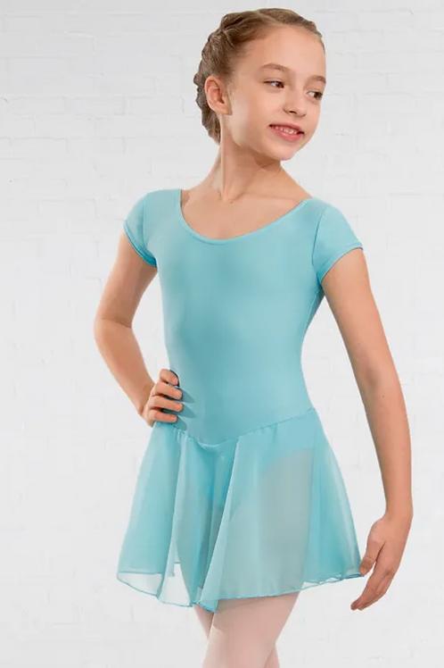 NATD Aqua Leotard & Skirt