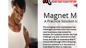 Magnet Media, A Practical Solution to In-Store Displays