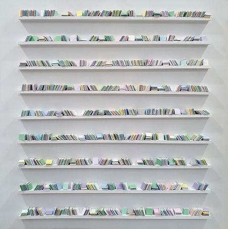 pastel library 100x100cm lovejordan solo