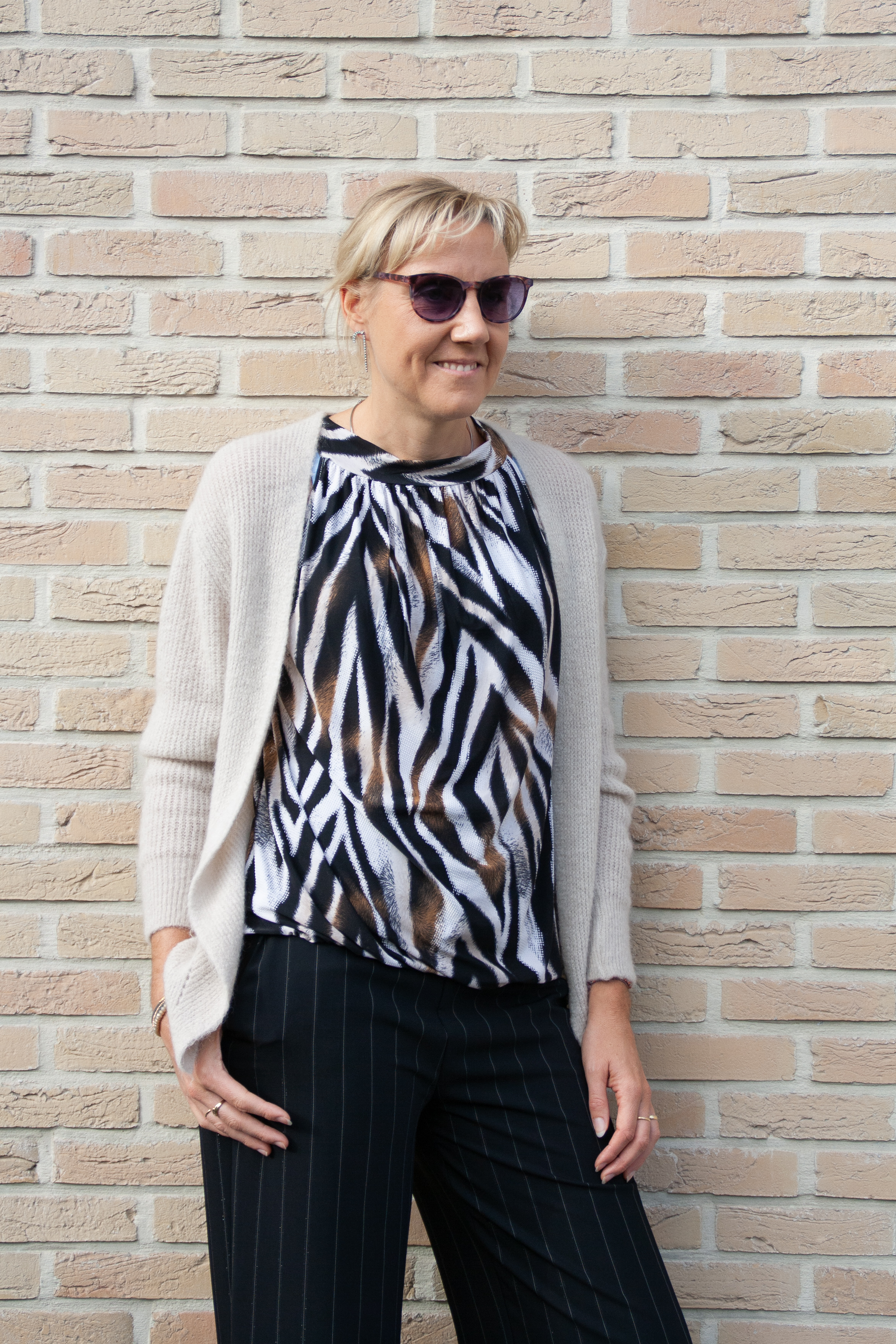 Neliane tiger blouse