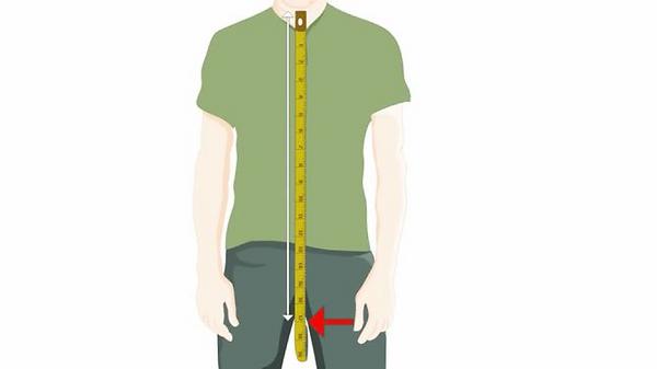 Замер длины пиджака