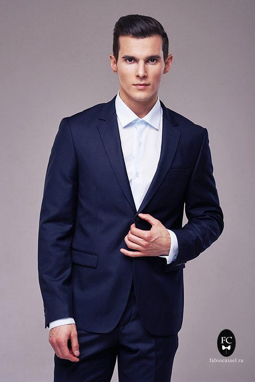 Базовый костюм тёмно-синий