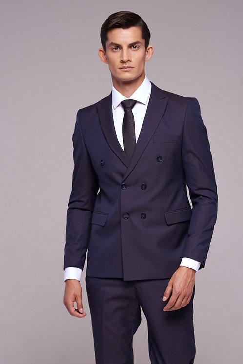 """Двубортный костюм синего цвета от бренда """"Fabio Cassel"""""""