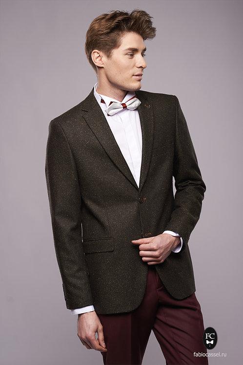 Коричневый пиджак орео A6/06/276