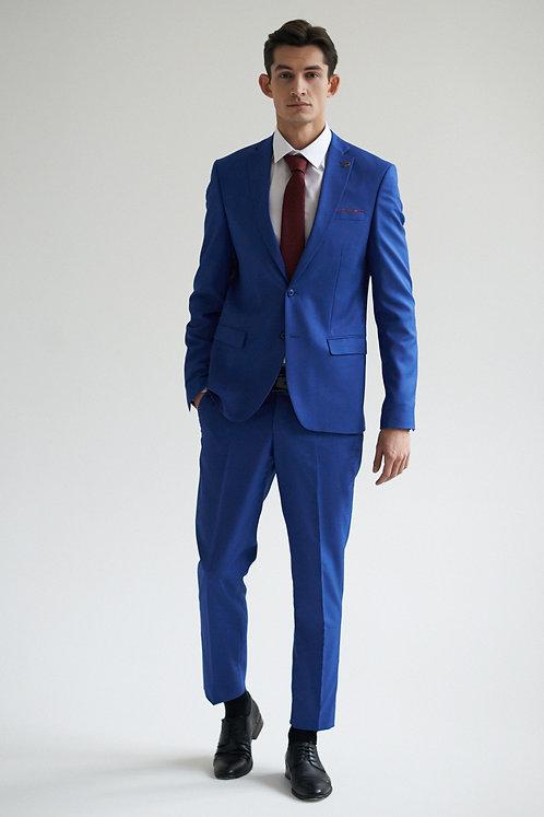 Васильковый костюм