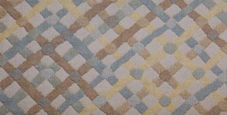 Blue, Yellow and Brown Lattice