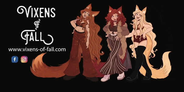 Vixens of Fall Stubby Cooler