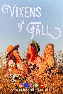 Vixens of Fall Poster