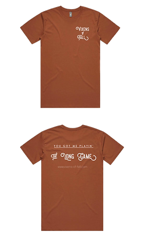 Vixens of Fall 'The Long Game' Limited Edition T-Shirt
