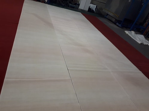 4ft x 25ft Off-White Carpet Runner