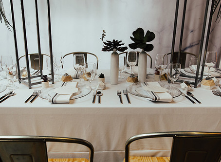 Simplicity is Beauty: Signature Tablecloths