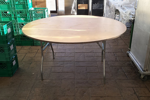 Round Plywood Tables
