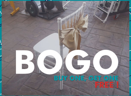 Buy One Chair Tie, Get One Chair Tie Free!