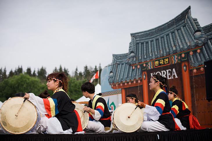 Korean Pavilion - Edmonton Heritage Festival 2018