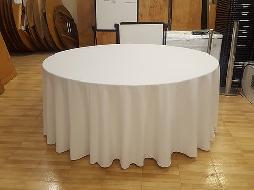 """132"""" Round Signature Tablecloths"""