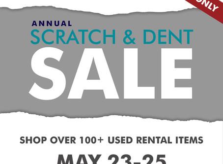 2020 Scratch & Dent Sale