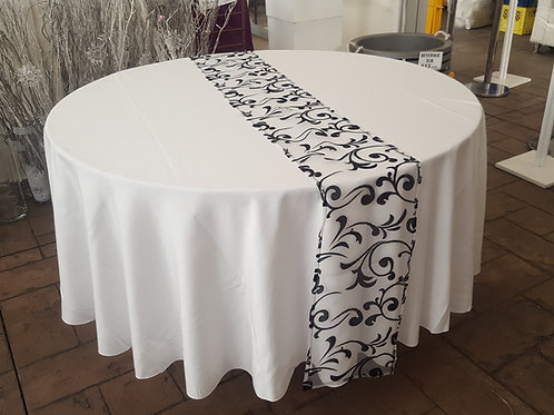 Organza Damask Table Runners